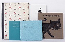 Five Books Regarding Cats Including Special Editions of