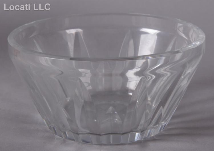 Group of Cut Glass Including Baccarat