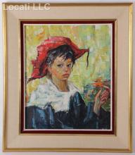 Luigi Corbellini (Italian 1901 - 1968), Oil on Canvas