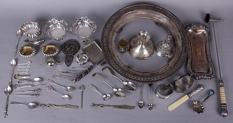 Estate Lot: A Group of Silver Items