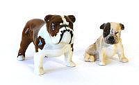 A Beswick model of a bulldog