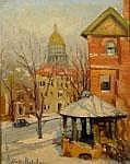 VALLIE FLETCHER (American, 1874-1939) STAMFORD