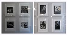 Eight Photographs by Sid Avery (American, 1918-2002) and Bob Willoughby (American, 1927-2009)