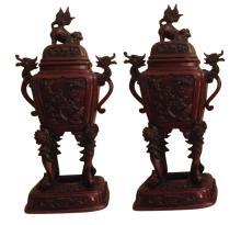Japanese Bronze Censors