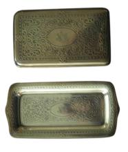 Tiffany Silver Box and Matching Pin Dish
