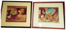 Two Limited Edition Animation Cels,