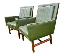 Set of Three American Mid-Century Armchairs