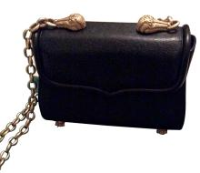 Kieselstein-Cord Black Leather Shoulder Bag