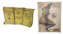 Four Hart Schaffner and Marx Advertising Posters