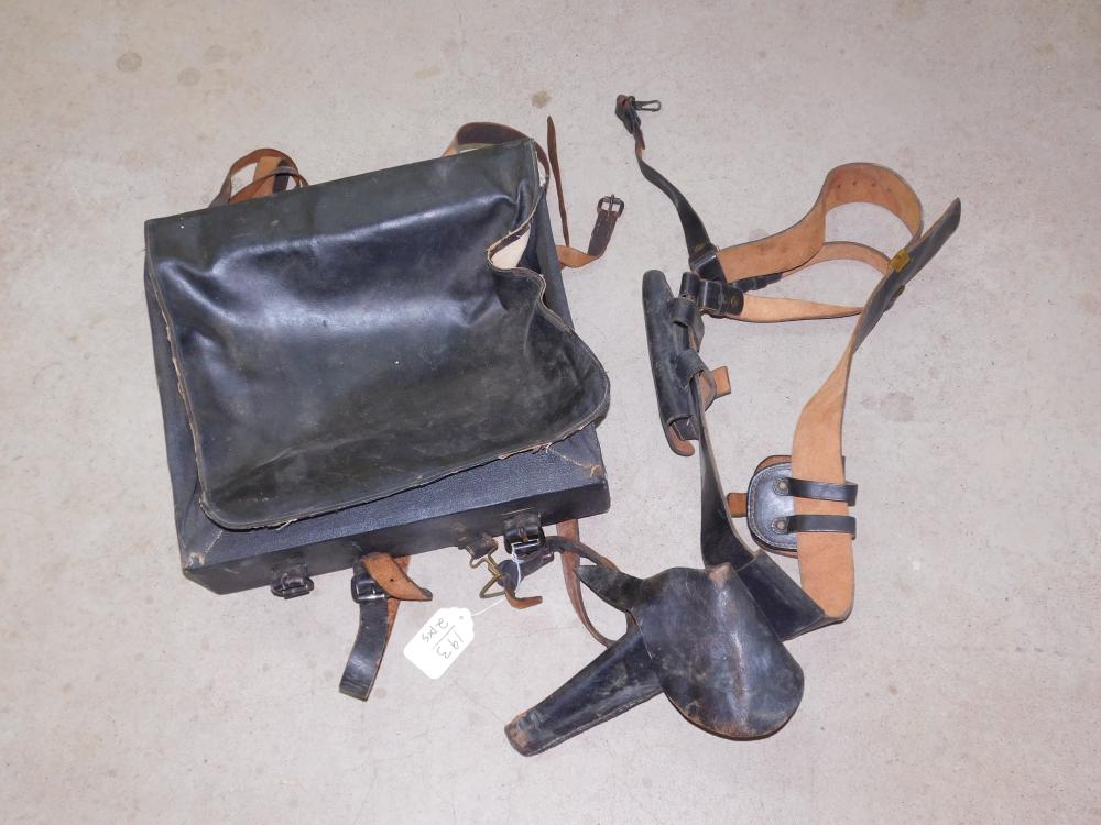 CIVIL WAR BACKPACK & GUN HOLSTER