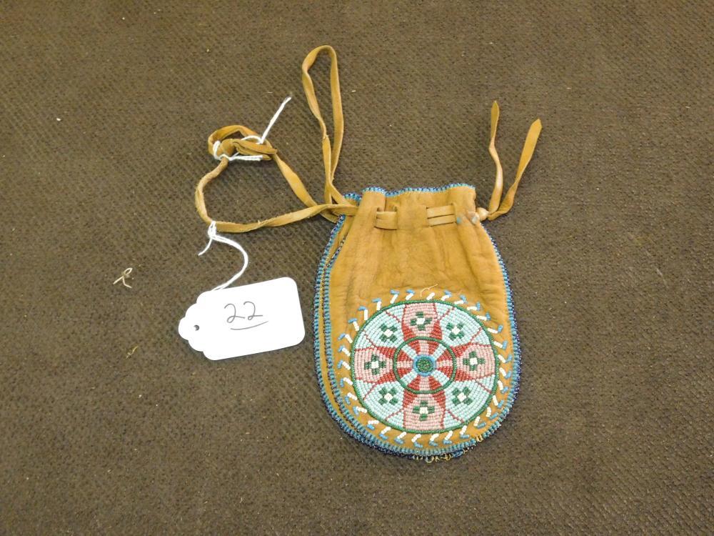 ARAPAHOE BEADED BAG