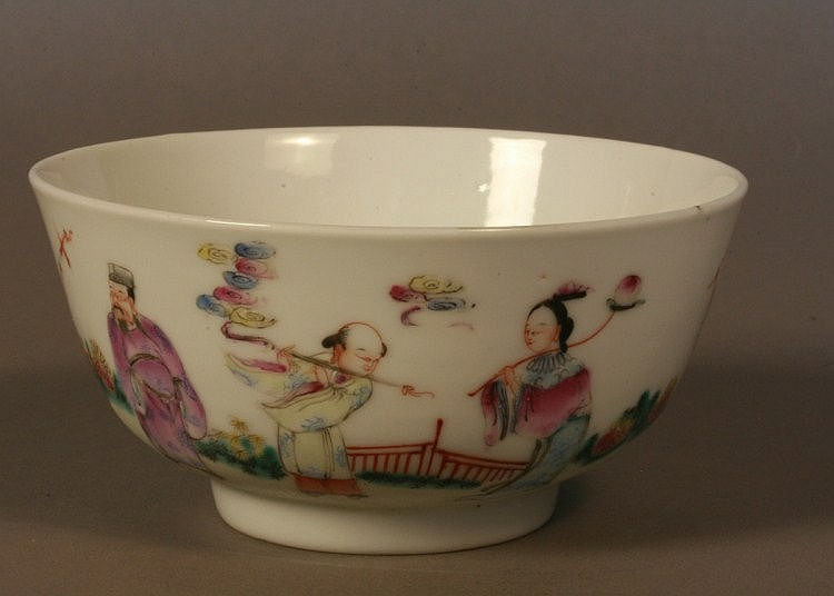 Dauguang Chinese Porcelain Bowl. Decorated with
