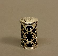 A William IV Pepper Pot. London 1836. Makers mark