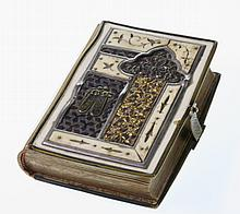 An Austro Hungarian Ivory and Gilt Metal Mounted Prayer Book