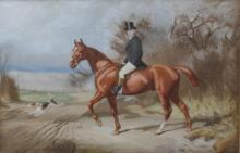 William Sextie (1821-1900). Water colour