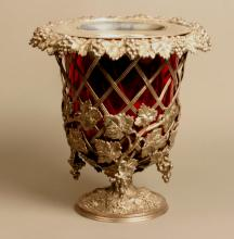 A Good Victorian Electroplated Wine Cooler. Circa 1880