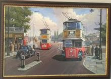 An auction of London Underground, Bus, Tram, & Trolleybus Collectables and Railwayana