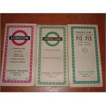 Maps, leaflets and booklets