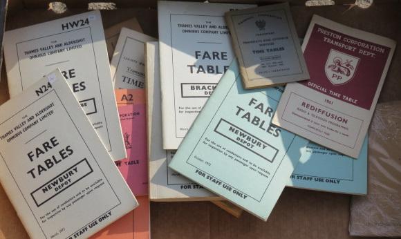 Maps, publicity leaflets