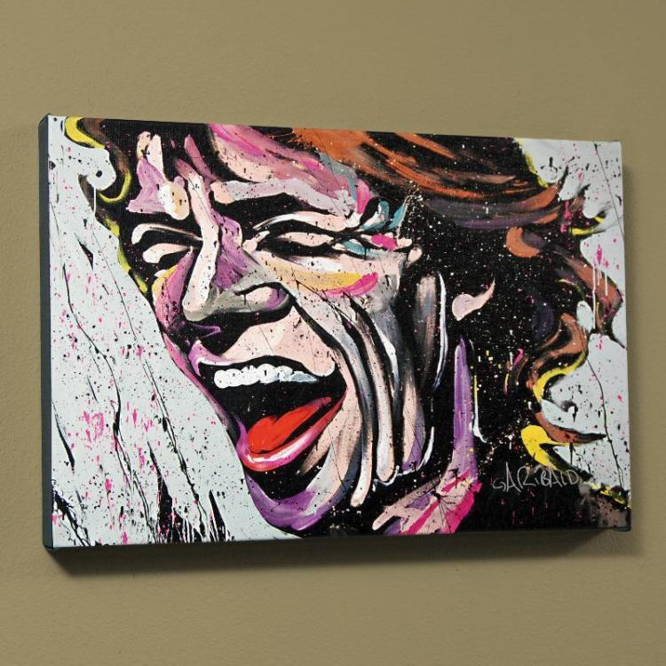 Mick Jagger By David Garibaldi