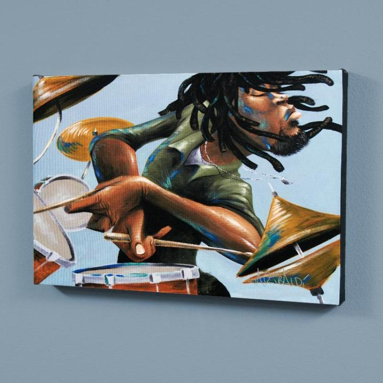 Dreads And Drums By David Garibaldi