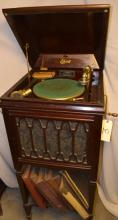Victrolas and Edison Roll Auction