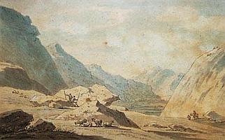 THOMAS SUNDERLAND (British 1744-1823), 'Landscape'