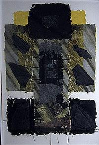 KATHERINE VIRGILS (b.1954), Untitled, mixed media,