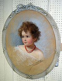 FORTUNEE DE LISLE (1866-1911), 'Portrait of a