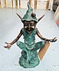 SCULPTURED BRONZE FIGURE, 'Isabel' in the style of, David Goode, Click for value