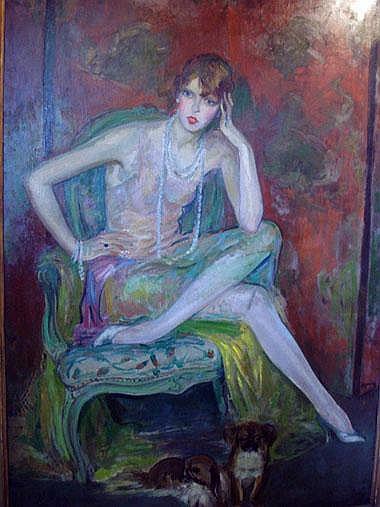 MILIVOJ UZELAC (1897-1977), 'Portrait of