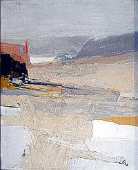 IAN BLACK (b.1929), 'Coastal scene', oil on board,
