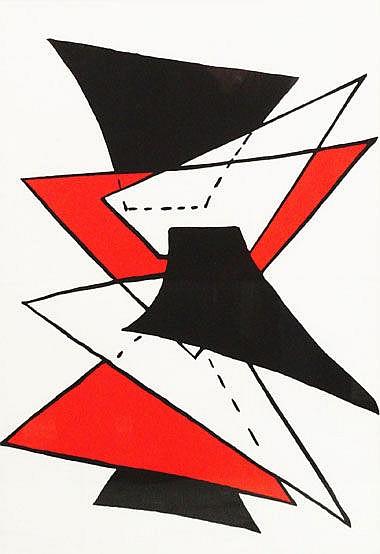 ALEXANDER CALDER, (American, 1898- 1976) 'Abstract