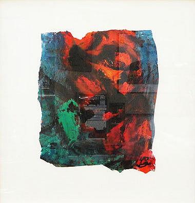 HOCK AUNTEH, 'Dazed', gouache, 50cm x 55cm.