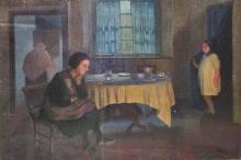 THOMAS MAIDMENT (British 1871-1959) 'Interior'