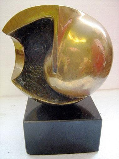 JEAN-PIERRE GHYSELS, early 20th century, polished