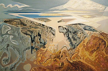 OLIVER HEYWOOD (1920-1992), 'Shore of North Uist',
