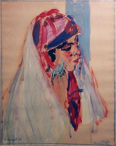 MAURICE-HENRI HENSEL (1890-1958), 'Vacha Bou