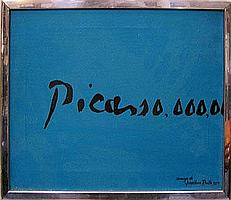 JONATHAN ROUTH (1927-2008), 'PICASSO,000,00...',