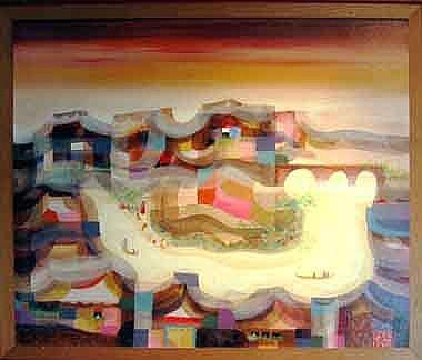 MANUEL BALDEMOR (b.1947, Laguna), 'Lavanderas',
