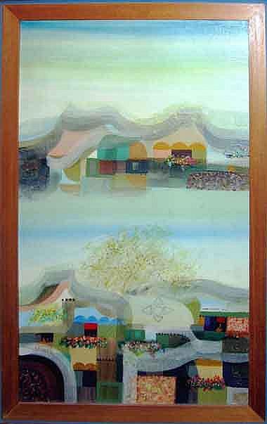 MANUEL BALDEMOR (b.1947, Laguna), 'Landscape', oil