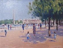 RONALD MORGAN RBA ROI (b.1936), 'Place de la