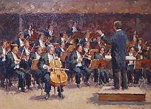 RONALD MORGAN RBA ROI (b.1936), 'Elgarcello