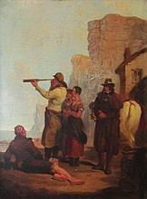 EDWIN COCKBURN (British,1837-1868), 'The Lookout',
