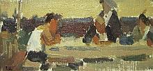 PAVEL SHUMOV (Ukrainian, b.1964), 'At the table',