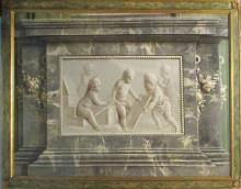 19TH CENTURY SCHOOL 'Cherubs Drawing'