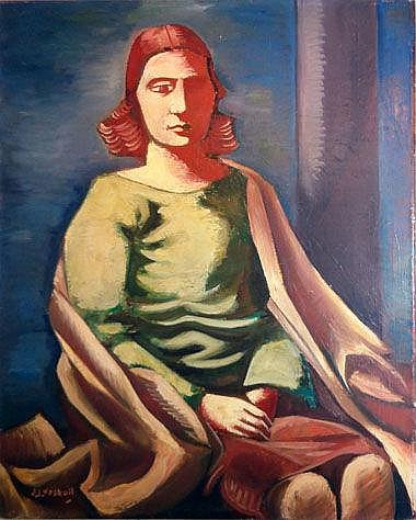 JOHAN JACOB VOSKUIL (1897-1972), 'Portrait of a
