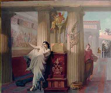 VICTOR LOUIS MOTTEZ (1809 Lille - 1897 Bievres)