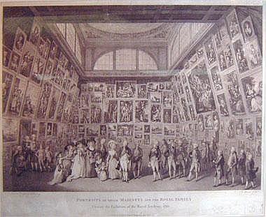 PIETRO MARTINI (1739-1797) & P RAMBERG, 'Portraits