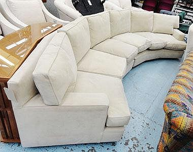 CORNER SOFA, by Sinclair Melson (upholsterers to
